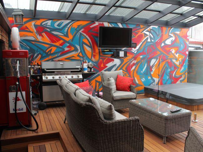 Retreat – Decking Area Wall Art – Mentone