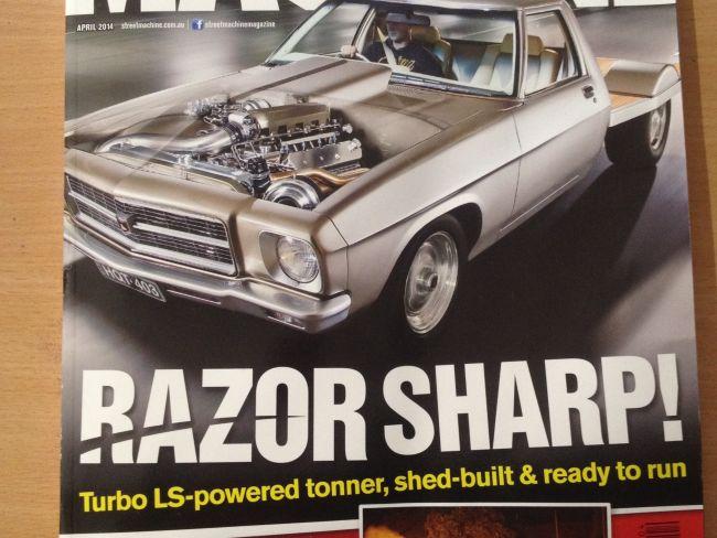 Street Machine Magazine (Sunday Too Far Away, April 2014)