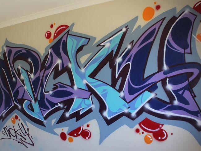 Nicky – Kids Bedroom Graffiti / Doreen